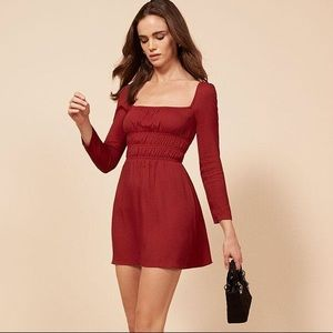 REFORMATION CLEMENCE DRESS NWT SIZE 0